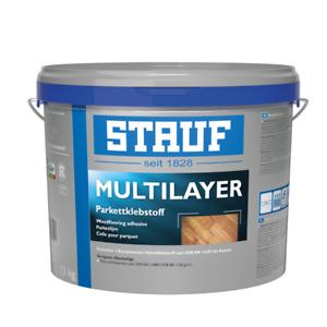 5 x STAUF MULTILAYER Parkettklebstoff (3,99 EUR/kg)
