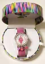 BETSEY JOHNSON BRAND NEW WOMEN'S TROLLS WATCH FROM MACY'S IN BOX FREE SHIPPING