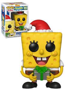 Funko POP! Animation #453 Spongebob Squarepants (Christmas) - New, Mint