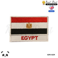 EGYPT National Flag With Name Embroidered Iron On Sew On Patch Badge