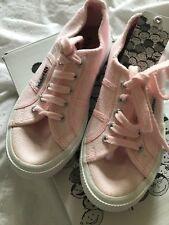 Superga Size (31) Girls Size 12 BNWT Pink