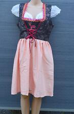 Trachtenkleid - Dirndl 3 Tlg  (Kleid+ Schürze + Bluse   ) GR:44