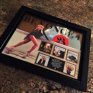 Beyonce 4 Million Record Sales Music Award Album Disc LP Vinyl