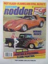 Custom Rodder Magazine  June 1980  '60 Thunderbird/ Robert Burns, '50 Mercury