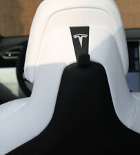 Tesla Model X - Coat Hooks PAIR (Will fit Model S with Performance Interior)