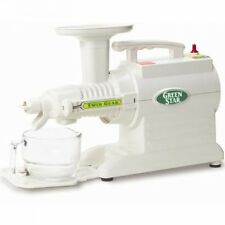 Tribest Greenstar GS-2000 Juicer Twin Gear + Soft fruit knob + Free Shipping