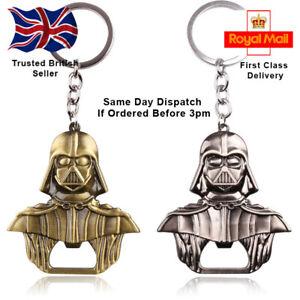 Star Wars Inspired Darth Vader Bottle Opener Keyring, 2 Colours, UK seller