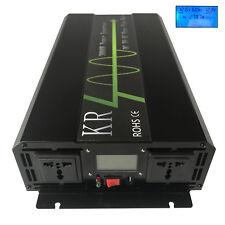 3000W Solar Power Inverter Pure Sine Wave DC12V/24V/48V to AC120V/220V Off Grid