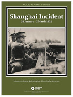 Decision Games Folio Games Series Shanghai Incident 1932 DCG 1635