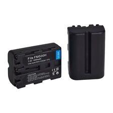2X Battery For Sony NP-FM500H Alpha a300 a200 a350 a700 a900 a580 a57 a850 X7N1