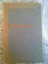 Strasbourg, guide illustré des champs de bataille, 1914/1918, Michelin 1919
