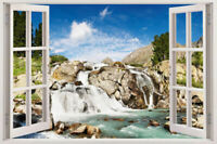Wall River Decal Sticker Art Window Vinyl Decor Mural Graphic Home Removable 3d