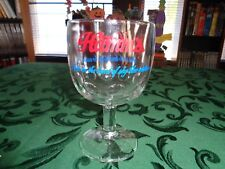 "Hamms Born In The Land Of The Sky Blue Waters 6"" Glass Goblet"