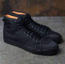 ADIDAS x RAF SIMONS Spirit HIGH TOP SNEAKERS sz 8 Black Shoes S81164 NEW