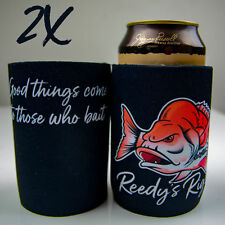 Stubby Hold Beer  Fishing Cooler Snapper Original Reedy's Rigz Fathers Day Pack