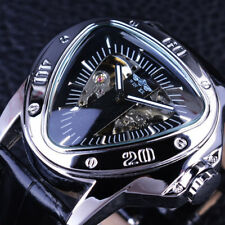 Design Triangle Watch Dial Mechanical Skeleton Luxury Automatic Men S Gorgeous