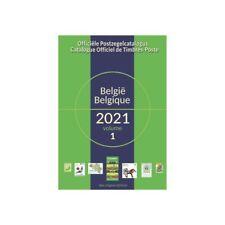 COB Catalogue de cotation timbres Belgique 2021.