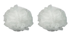 Luxury Luffa Loofah Bath Sponge On A Rope, Color May Vary (2 Pack)