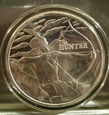 1 oz .999 silver Native American Hunter Sitting Bull Crazy Horse pow wow buffalo