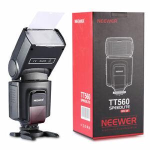 Neewer TT560 Flash Speedlite for Canon Nikon Sony Panasonic Olympus Pentax DSLR