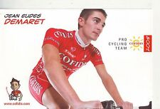 CYCLISME carte cycliste JEAN EUDES DEMARET équipe COFIDIS 2008