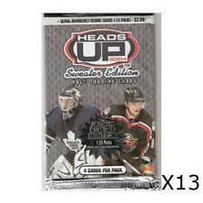 2003-04 Pacific Heads Up Hockey / Sweater Edition - 13 PACK LOT