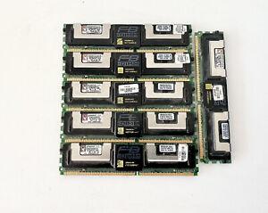 6 Kingston KVR667D2D8F5/1GI 1GB  DDR2-667 FB-DIMM ECC Server RAM