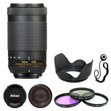 Nikon AF-P DX NIKKOR 70-300mm f/4.5-6.3G ED Lens + Deluxe Accessory Kit