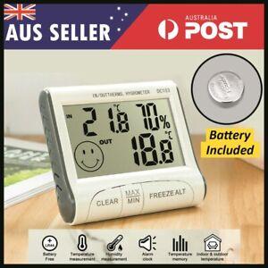 Digital Humidity Indoor Outdoor Hygrometer Thermometer Temperature Meter AU