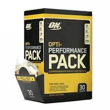 Optimum Nutrition Opti-Performance Pack High-Potency MultiVitamins - 30 Packets