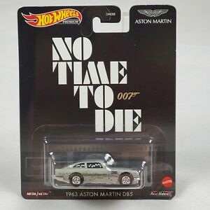 No Time to Die • James Bond 007 • Hot Wheels Real Riders • 1963 ASTON MARTIN