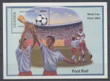 FOOTBALL Ouganda 1 bloc de 1989