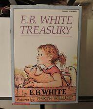 E.B. White Treasury 3 PB Books Vintage Box Set  1987 TRUMPET STUART CHARLOTTE