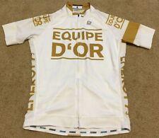 BIEHLER EQUIPE D'OR Germany Team Cycling Bike Jersey Shirt Top Men's Sz L