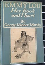 """1907 """"Emmy Lou Her book and Heart"""" - George Madden Martin stunning illustrations"""