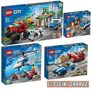 LEGO® City Polizei 4 Sets 60241+60242+60243+60245 NEU & OVP