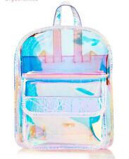 Women Student PVC HOT Mini Backpack Street Harajuku Transparent Waterproof Bag
