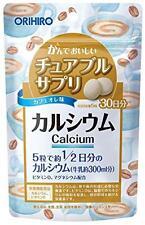 Orihiro chewable supplement calcium 150 tablets