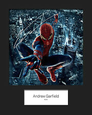 ANDREW GARFIELD (SPIDER MAN) #2 Signed Photo Print 10x8 Mounted Photo Print