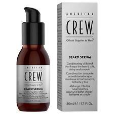 American Crew Beard Serum - 50ml Lightweight Fast Absorbing Moustache Beard Oil