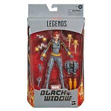 """Marvel Legends Black Widow Gray Suit Walmart Exclusive 6"""" Hasbro Action Figure"""