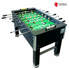 Soccer Table Football Foosball 60 kg solid strong Black Poles Home boys adults