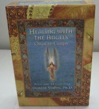 Healing With The Angels Oracle Cards Book and 44 Card Deck Doreen Virtue Ph.D.