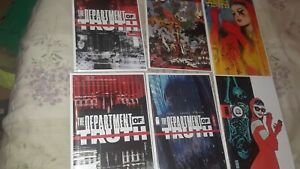 DEPARTMENT OF TRUTH #3 4 & 5 Image 2020   1st Print Tynion   🔥7 BOOK LOT  [NM]
