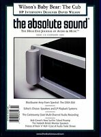 TAS  The Absolute Sound : The High End Journal - Issue 116 (1999) Audiophile mag