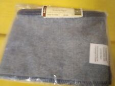 Longaberger Letter Tray Basket liner in denim fabric, mint condition never used!