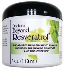 DOCTORS RESVERATROL CREAM ORGANIC SILICA SUPEROXIDE SWEET ALMOND OIL SKIN CARE