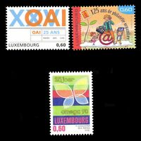 Luxembourg 2015 - Commemorative Series Philately Art Children - Sc 1397/9 MNH