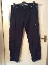 """EX-PUBLIC SERVICE POLICE TROUSERS BY UNIWEAR GLOBAL SIZE 34""""S"""
