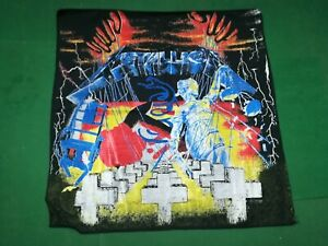 METALLICA Master of Puppets   - Rare Vintage BANDANA ,Cm. 54x55 - Made in Italy